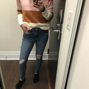 Denim - 2/$20 Old Navy High-rise Distressed Skinny Jeans